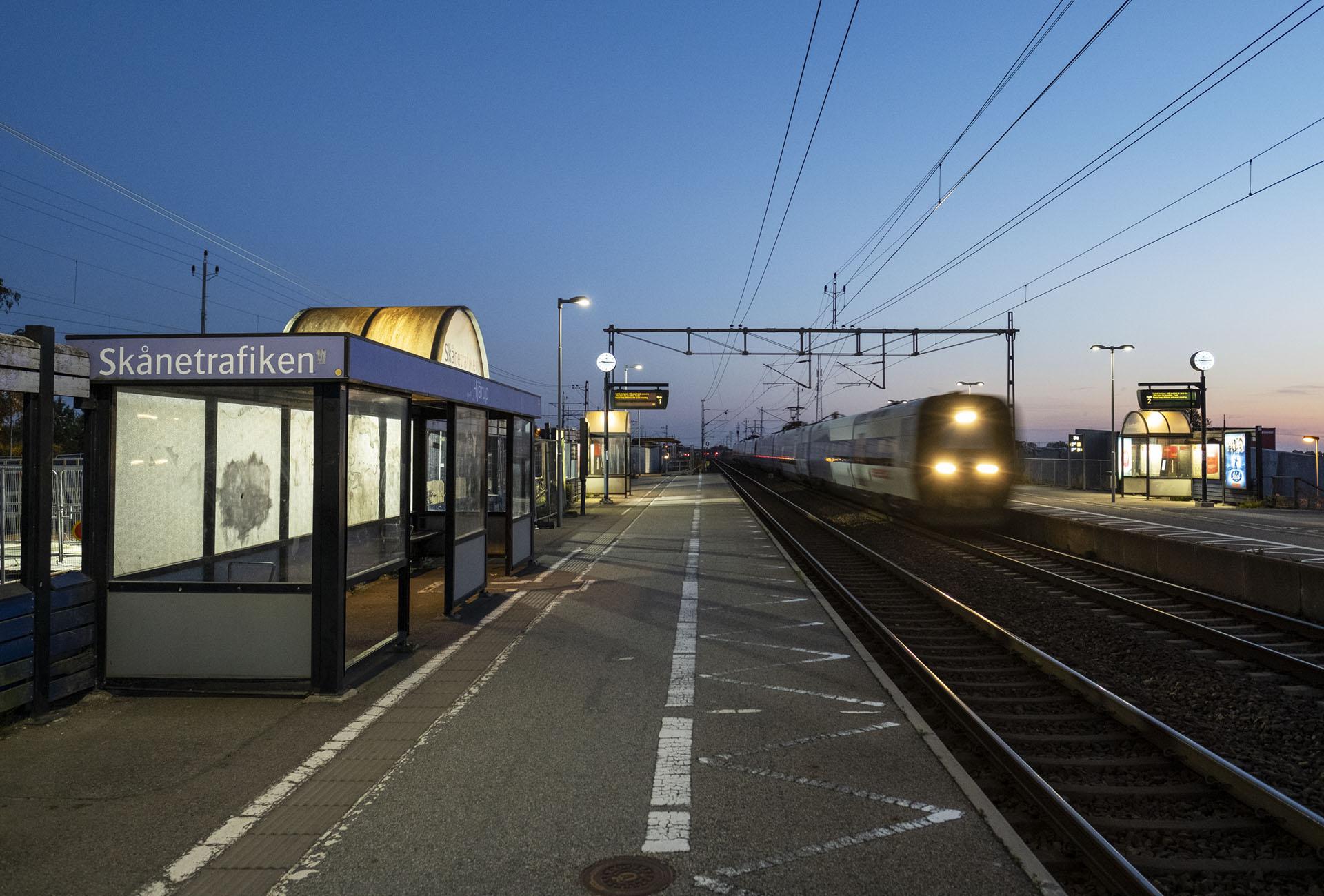 Tågstopp sex dygn Malmö-Lund